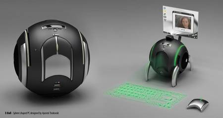 E-Ball: PC Concept Coming From Future