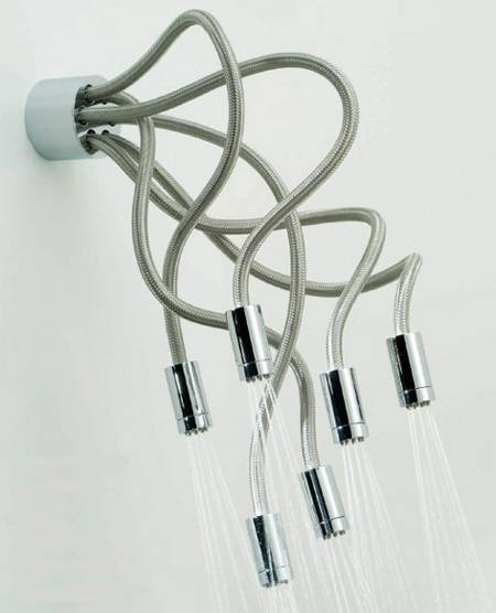 Funny Shower Header Like Octopus