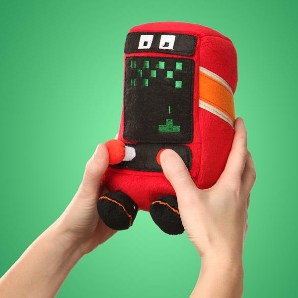 Arcadeans Plush Arcade Cabinet with Sound