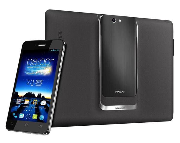 ASUS PadFone Infinity Android Phone with Tablet Station Announced