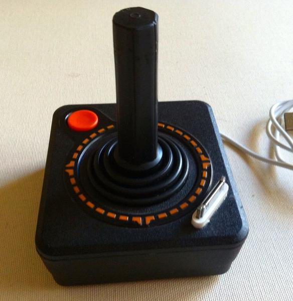 Atari 2600 Controller iPhone Dock