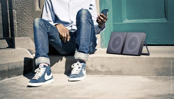 Beat Booster Boombox Wireless Speaker with Lightning Dock