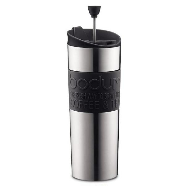 Bodum Stainless Steel Double Wall French Press Coffee Mug