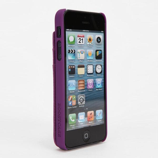 Boostcase Snap iPhone 5 Case with Attachable Wallet