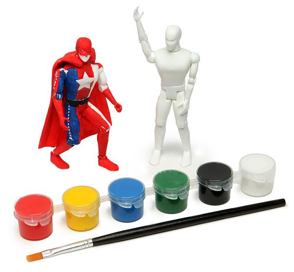 Customize Your Own Superhero Action Figure