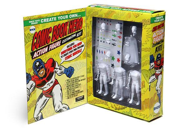 Customize Your Own Superhero Action Figure