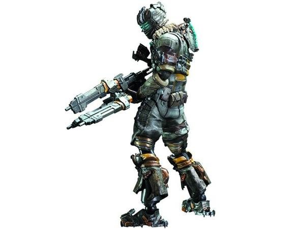 Dead Space 3 Play Arts Kai Isaac Clarke Action Figure