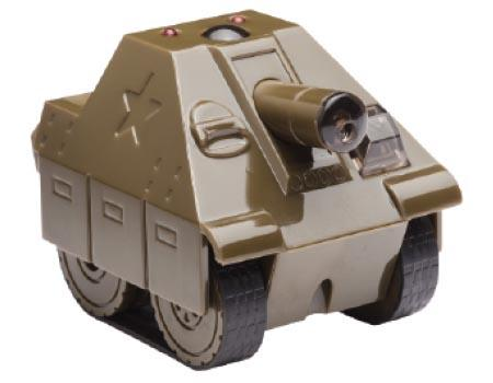 DeskPets BattleTank App Controlled Robotic Tank