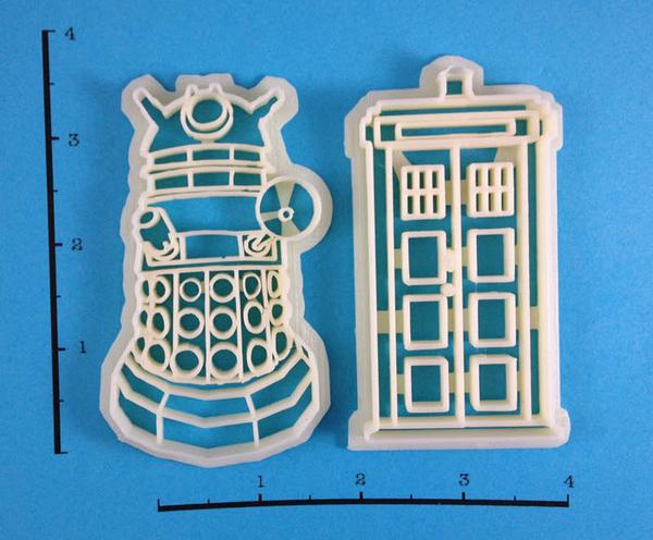 Doctor Who Cookie Cutter Set