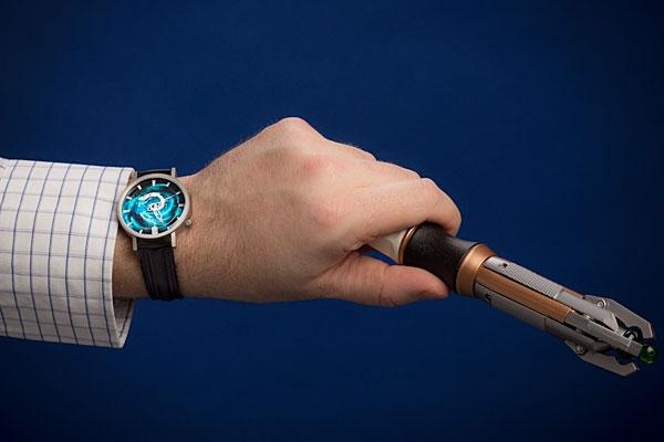 Doctor Who Spinning TARDIS Wrist Watch