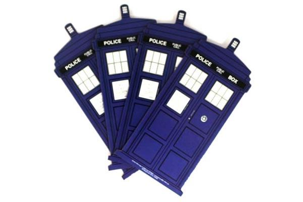 Doctor Who TARDIS Coster Set