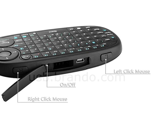 Eboard Smart-Handheld Bluetooth Mini Keyboard with Optical Trackpad
