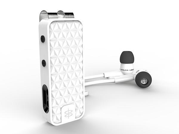elroy bluetooth earbuds with magnetic dock gadgetsin. Black Bedroom Furniture Sets. Home Design Ideas