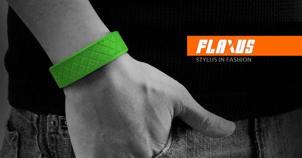 Flaxus Wrist Band Styled Stylus