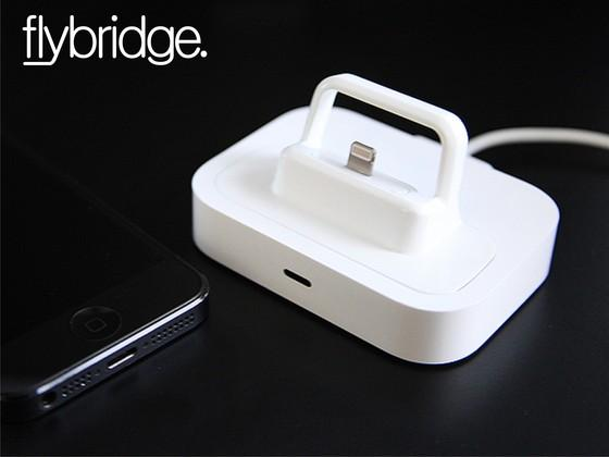 Flybridge Lightning Dock Adapter for iPhone and iPad