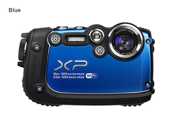 Fujifilm Finepix Xp200 Waterproof Camera Announced Gadgetsin
