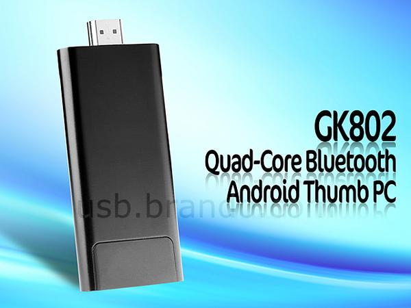 GK802 Android Mini PC with Quad-Core Processor