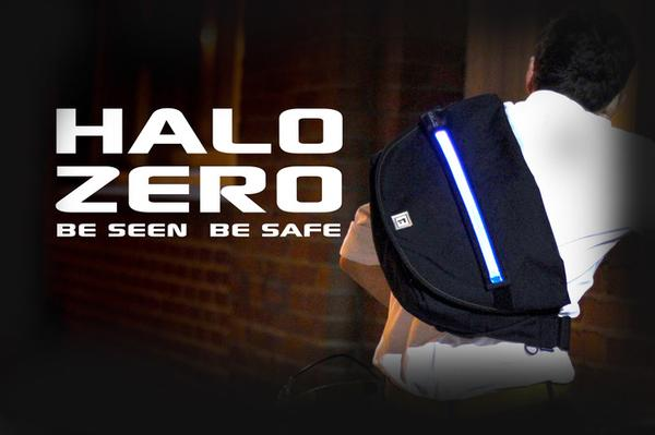 HALO ZERO Messenger Bag with LED Light