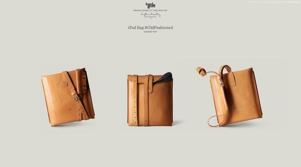 Hard Graft OldFashioned Leather iPad Bag