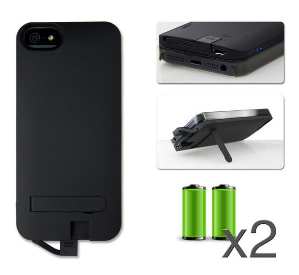 iKit NuCharge iPhone 5 Case with Interchangeable Backup Battery