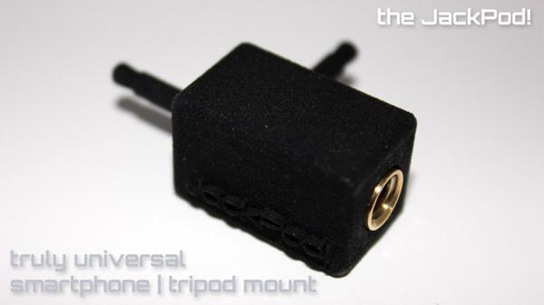JackPod! Tripod Mount for Smartphones