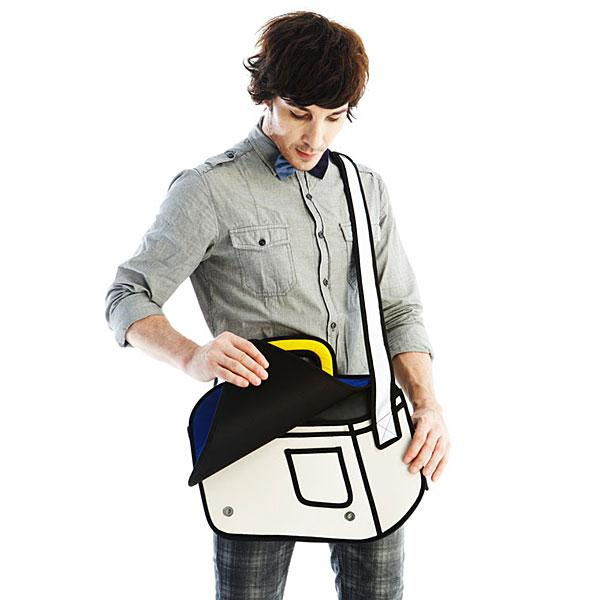 Jump from Paper Messenger Bag
