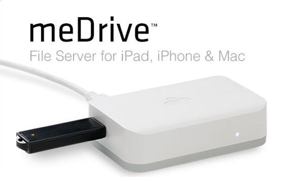Kanex meDrive File Server for iOS Devices