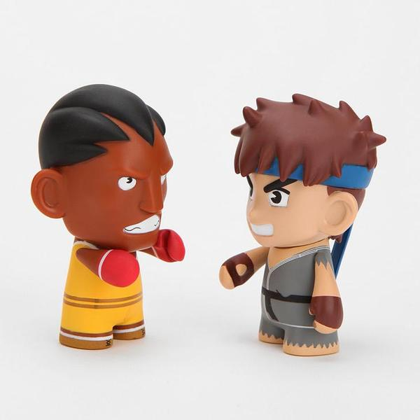 Kidrobot Street Fighter Mini Figure 2-Pack