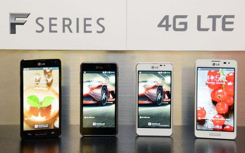 LG Optimus F5 and F7 Android Phones Announced