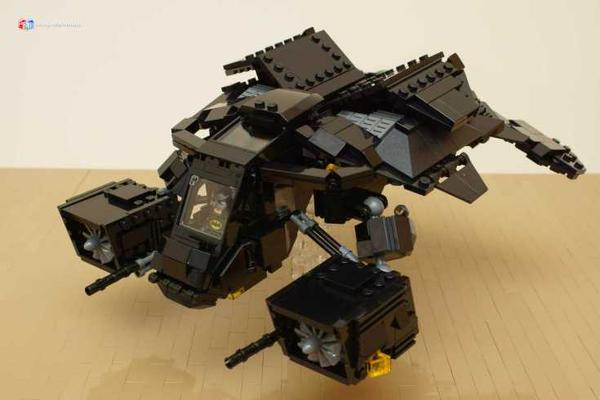 Make Your Own Batman's Tumbler and The Bat with LEGO Bricks