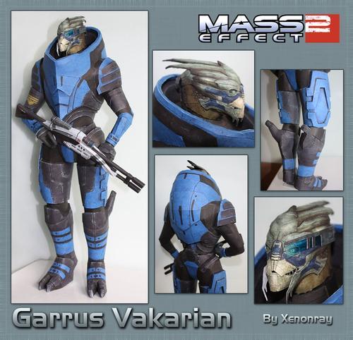 Mass Effect Character Paper Crafts Gadgetsin