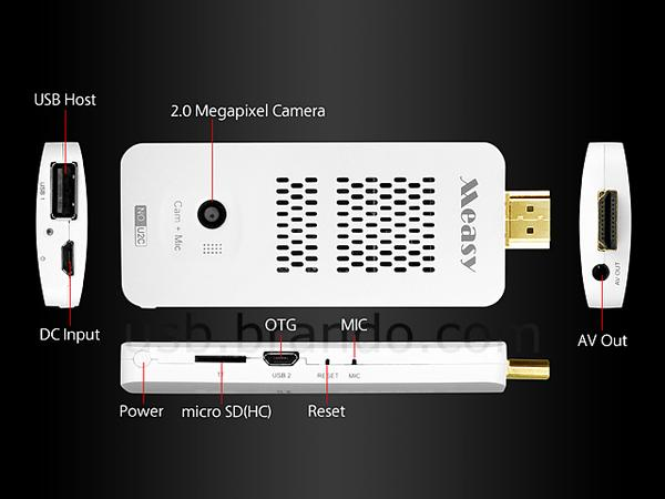 Measy U2c Android Mini Pc With Camera Gadgetsin