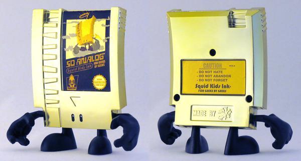 NES Cartridge Inspired 10-Doh Mini Figure Series 1