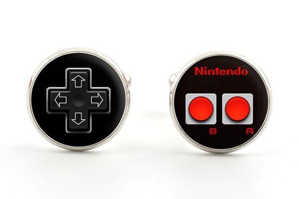 NES Controller Inspired Cufflinks