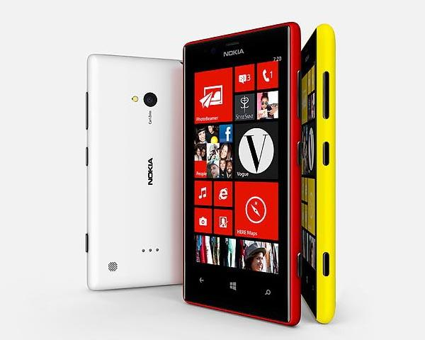 Nokia Lumia 720 Windows Phone 8 Smartphone
