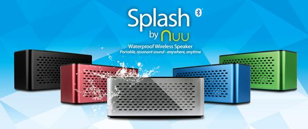 NUU Splash Portable Wireless Speaker