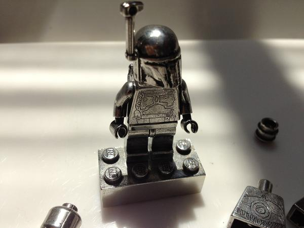 Pewter Metal Star Wars LEGO Minifigure Replicas