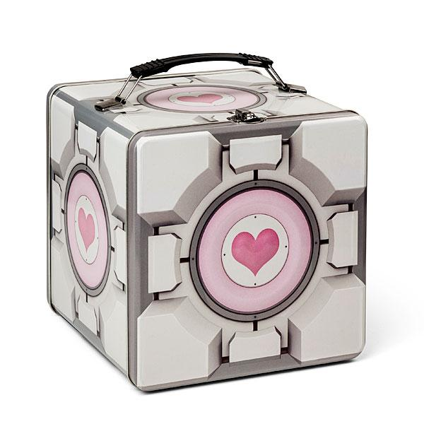 Portal 2 Companion Cube Lunch Box