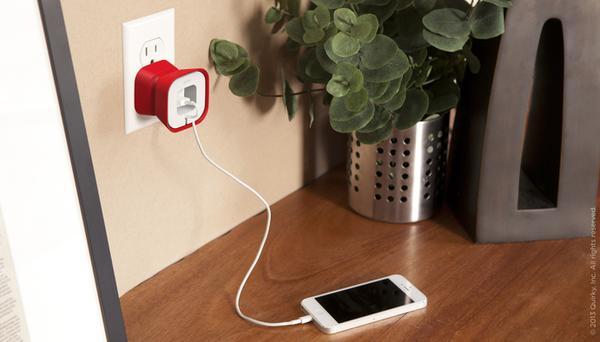 PowerCurl Mini Adapter Holder and Earphone Cord Organizer