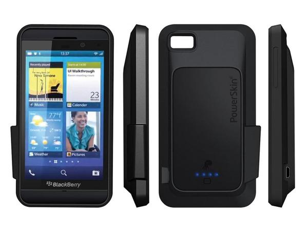 PowerSkin BlackBerry Z10 Battery Case