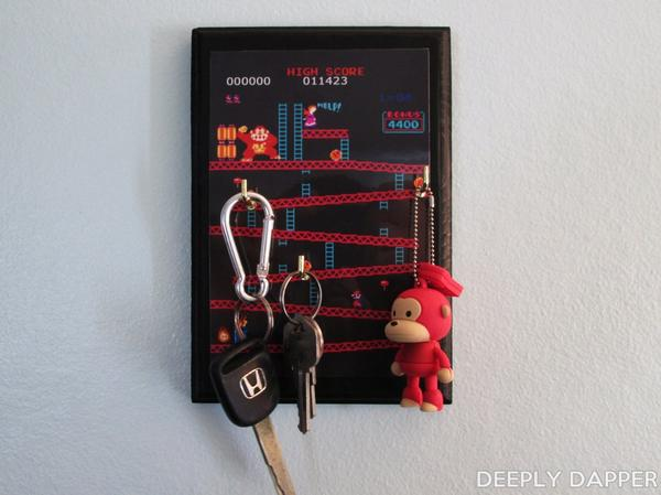 Retro Video Game Inspired Key Holder