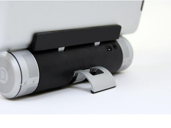 Sound Cylinder Portable Wireless Speaker with Tablet Stand