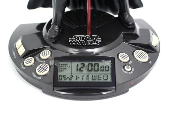Star Wars Darth Vader Alarm Clock Radio Gadgetsin