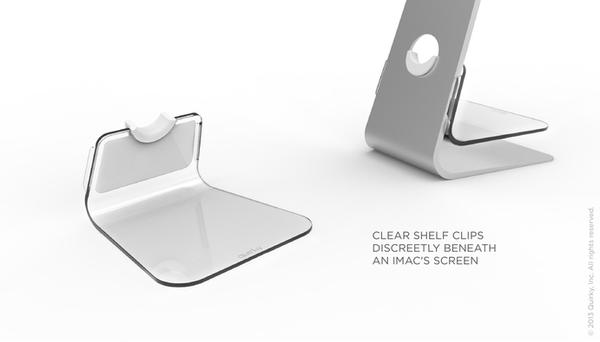 Stashboard iMac Shelf