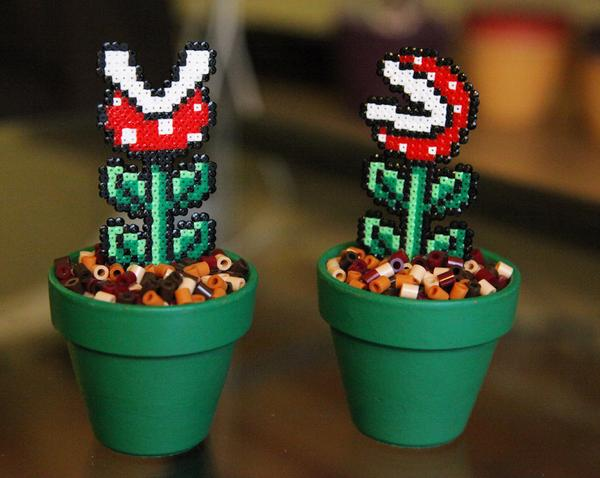 Super Mario Bros Inspired Potted Plants