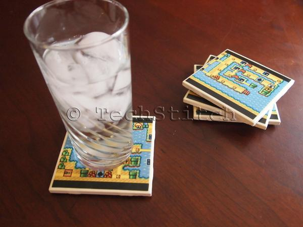 Super Mario Bros Map Coaster Set