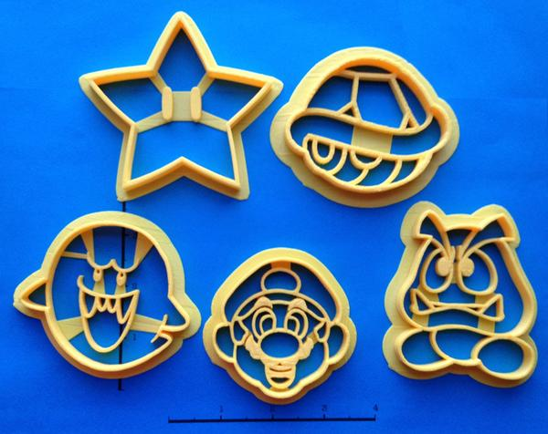 Super Mario Cookie Cutter Set