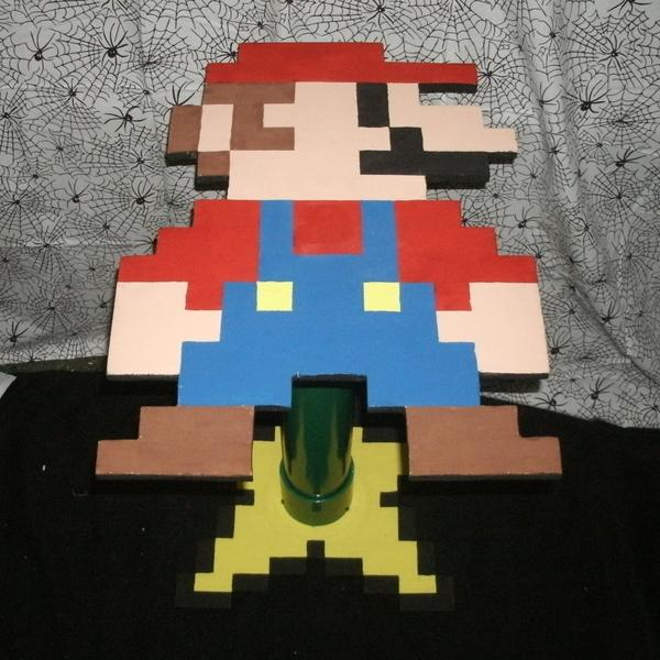Super Mario Shaped Side Table