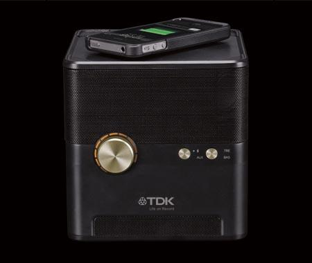 TDK Wireless Charging Bluetooth Speaker