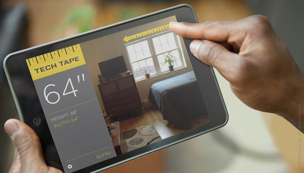Tech Tape An App-Powered Tape Measure | Gadgetsin